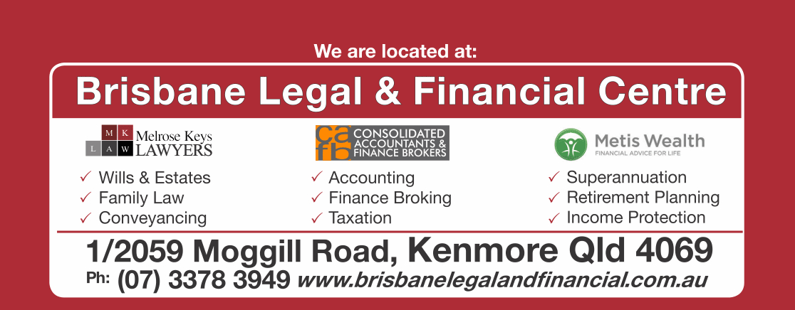 Contact Us | Brisbane Legal and Financial Centre Kenmore | Consolidated Accountants and Finance Brokers